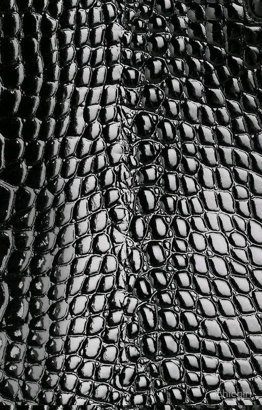 Faux Patent Leather Crocodile Design Iphone Case By Chicgirl Texture Leather Texture Texture Textures Patterns
