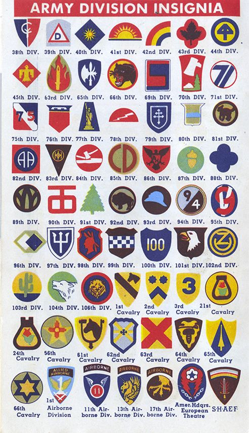 Pictures of us army patches