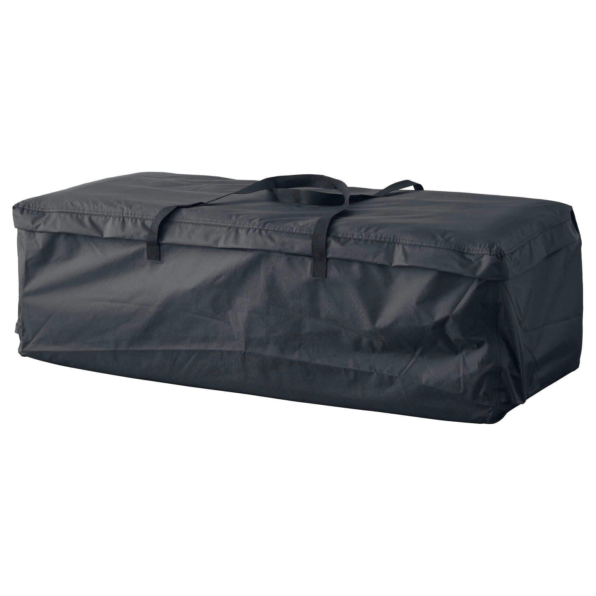 Tostero Storage Bag For Pads And Cushions Black 45 5 8x19 1 4 116x49 Cm Cushions Ikea Outdoor Cushions Ikea Garden Storage