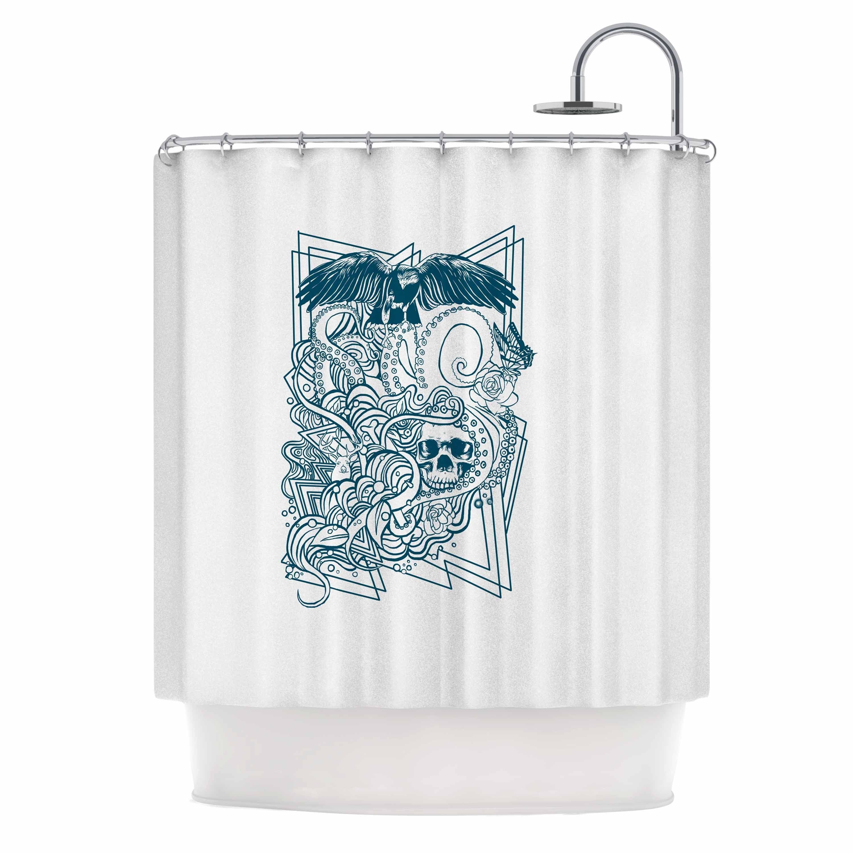 Kess InHouse BarmalisiRTB 'Tidal Wave' Shower Curtain