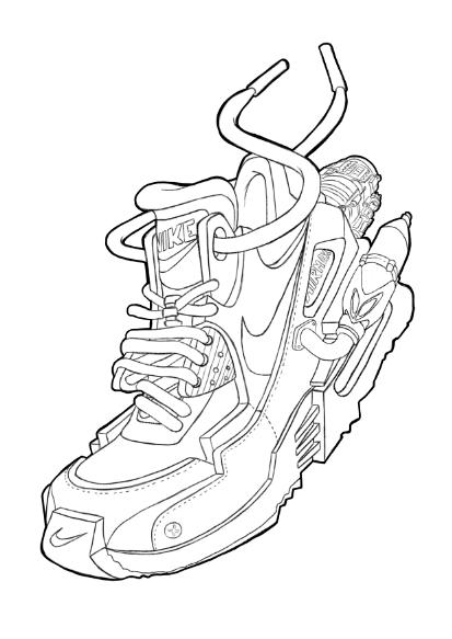 ilustración sneakers | Sneaker art, Nike air max, Nike