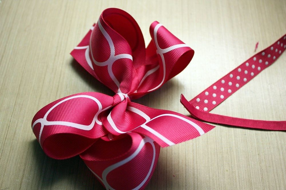 How To Make Boutique Style Hair Bows Online Ribbon May Arts Boutique Hair Bows Hair Bows Easy Hair Bows