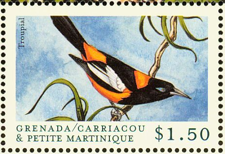 Venezuelan Troupial stamps - mainly images - gallery format