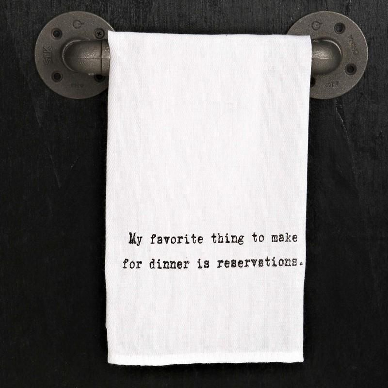 My favorite thing to make Tea Towel | Products | Towel, Tea
