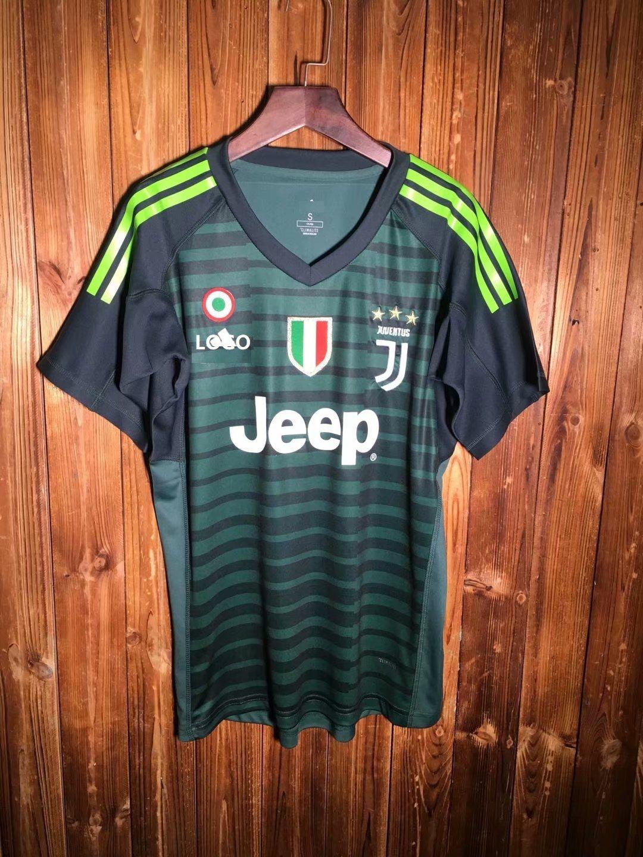 e87e42b4da9 18-19 Juventus Grey Goalkeeper Soccer Jersey -Thai Quality   Hold ...
