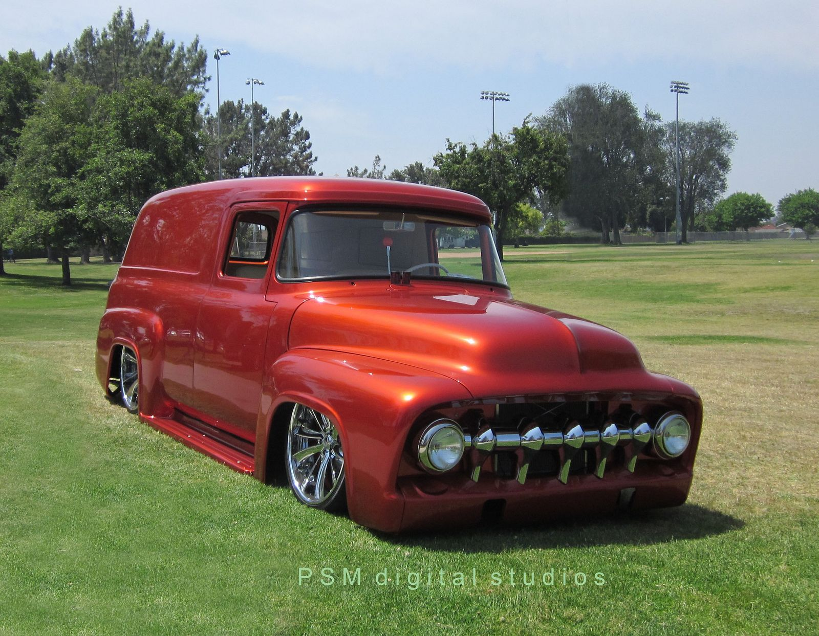 ✿1956 Ford Panel Truck✿