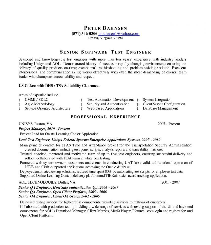 Test Engineer Resume Sample Cover Letter Game Tester Png Regulatory Patent  Agent Software