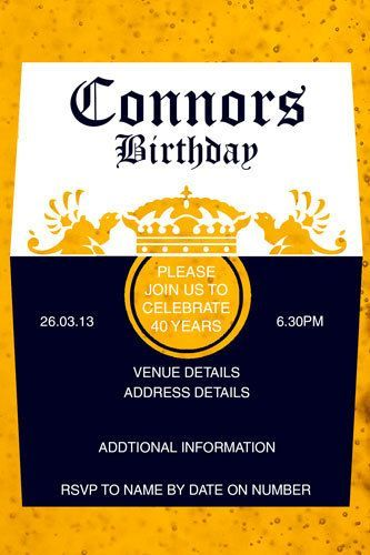 Cheers corona inspired invitations mens birthday invitation cheers corona inspired invitations mens birthday invitation beer men cool party filmwisefo