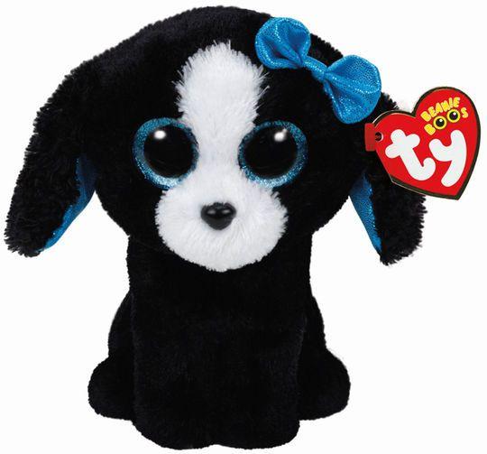 Ty Beanie Boo S Black White Tracey Dog Dog Beanie Beanie Boo