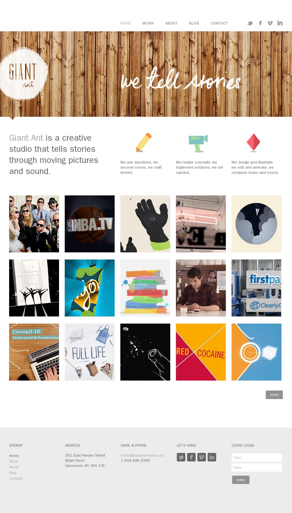 Home Giant Ant Website Banner Design Graphic Design Print Web Design