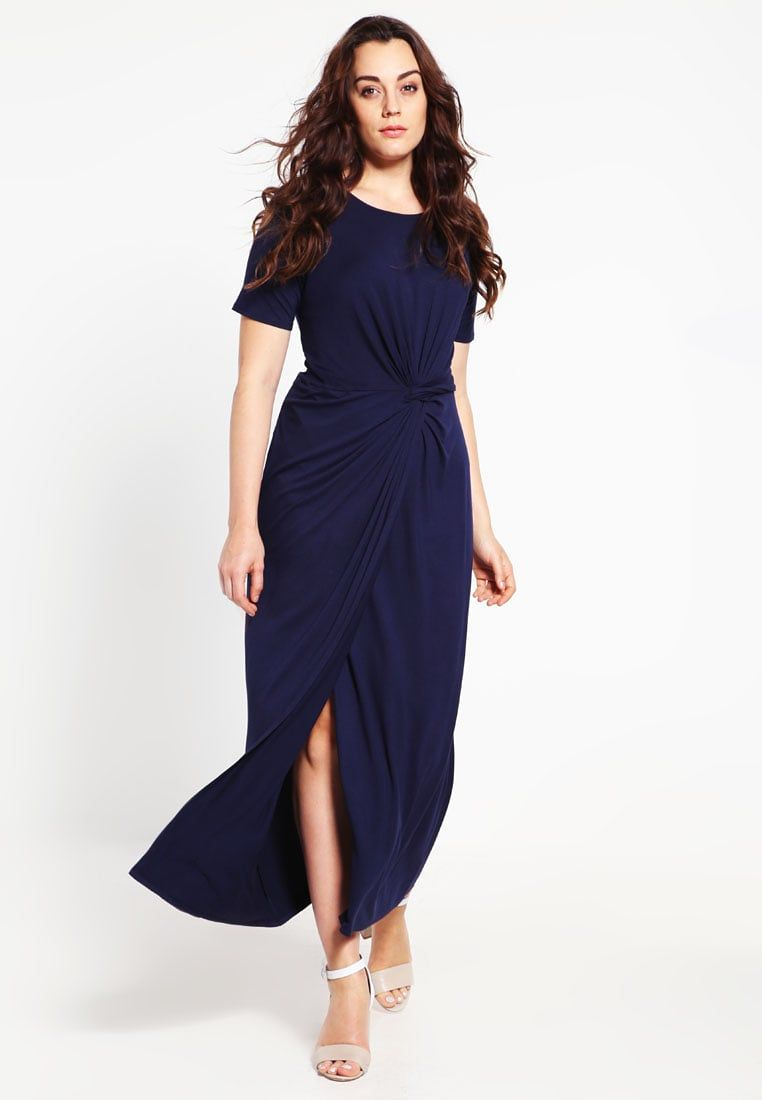 DP Curve maxidress navy blue