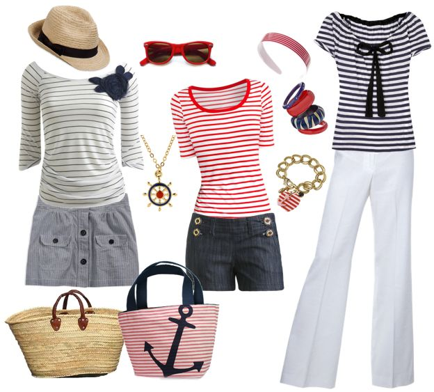 #outfit nautico | moda | Pinterest | Picnic attire Nautical outfits and Summer wear