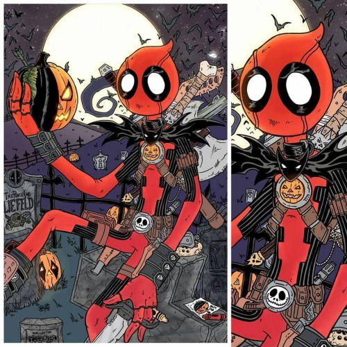 Free Comic Book Day Nightmare Before Christmas: Deadpool + Jack Skellington