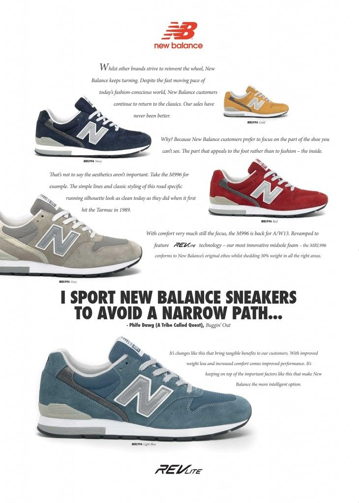 0a46c6b4fb04f New Balance 996 OG Style Advert size? Exclusive. | Sneakers | New ...