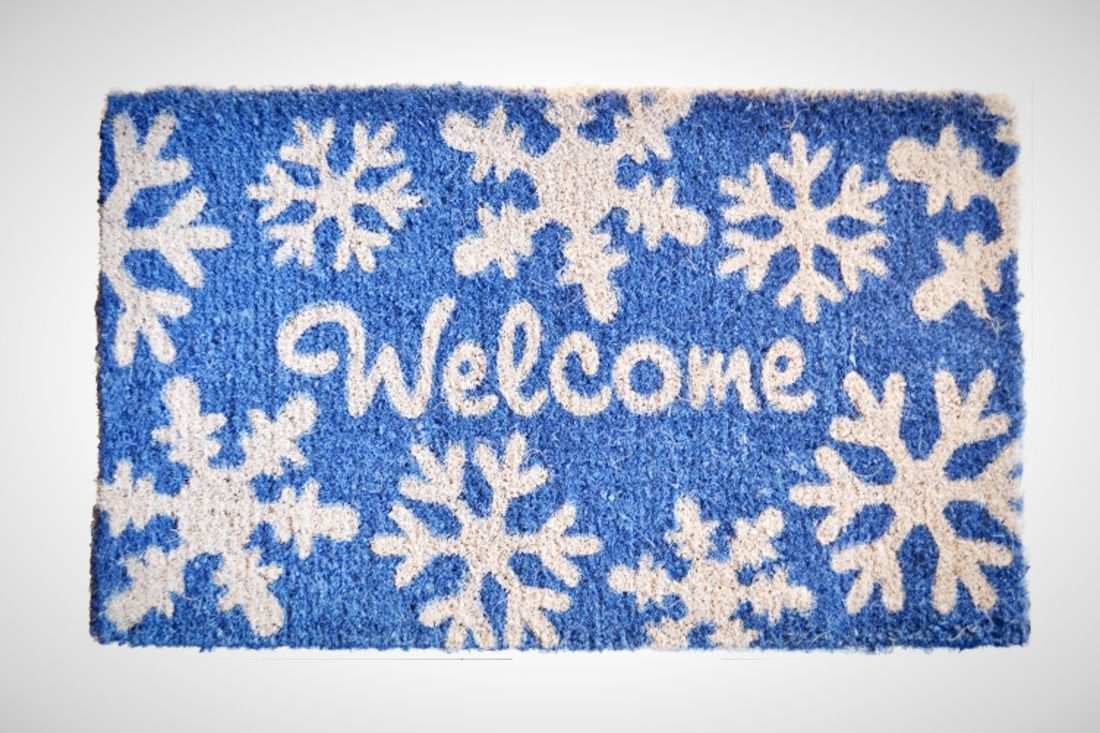 The 15 Best Designed Holiday Doormats