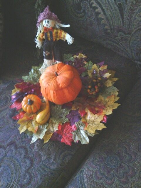 Fall festive platter add your special treat inside
