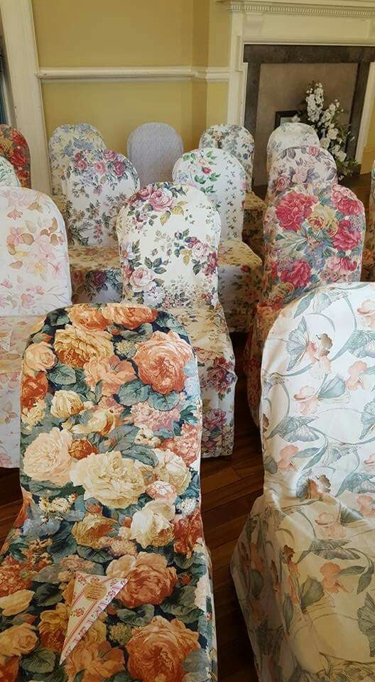 Wedding Chair Covers Eastbourne Lawn Chairs On Sale Pretty In A Row Vintage Floral Cover Hire From Www Bettylovesvintage Co Uk