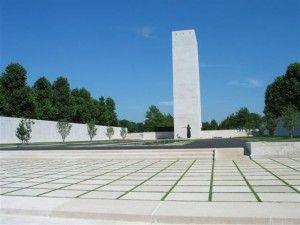 Amerikaanse begraaf- gedenkplaats in Margraten Zuid limburg