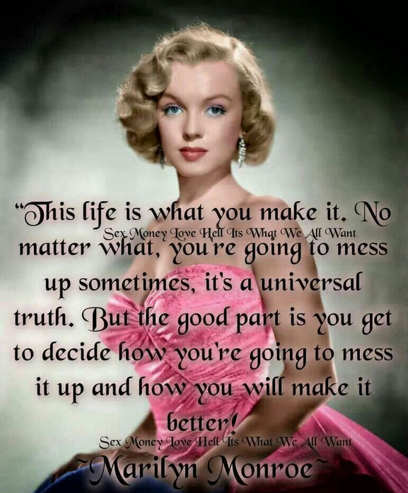 Marilyn Monroe Photos And Quotes: Cute Marilyn Monroe Quotes