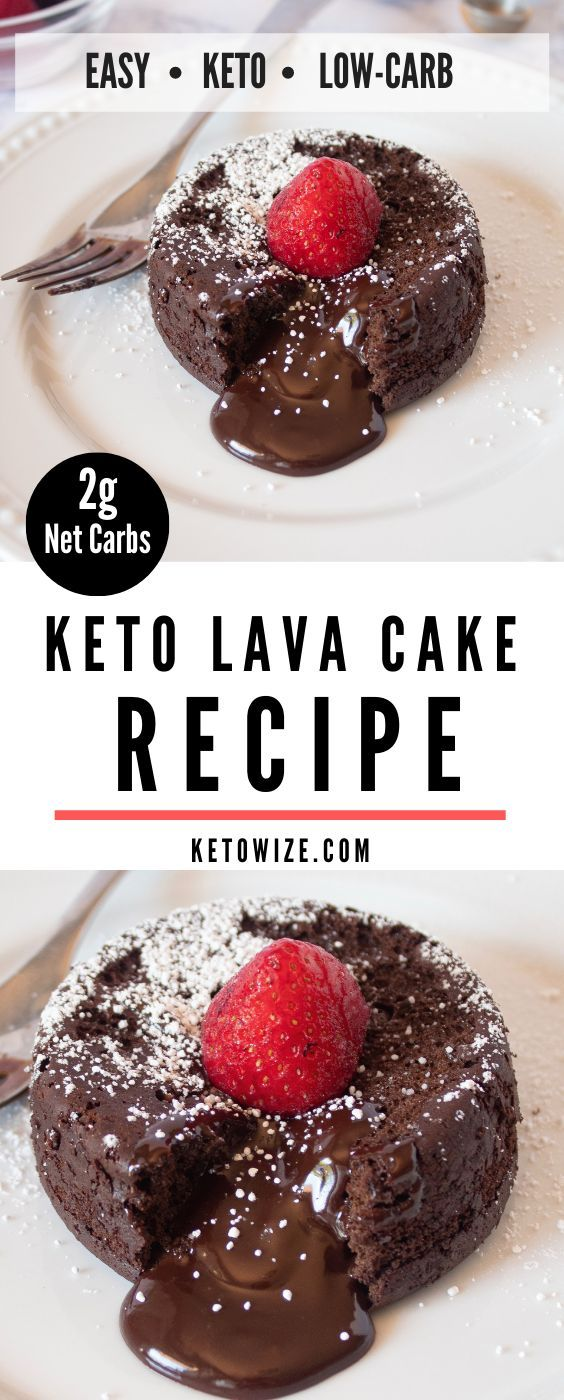 This Keto Lava Cake Recipe Is The Best We've Had All Year