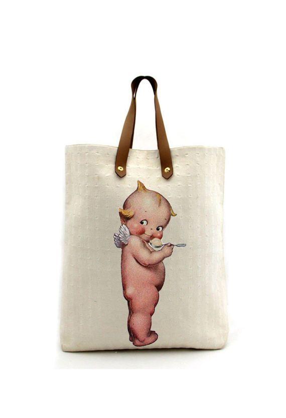 Kewpie Doll Cutout Baby Cutout Transfer by DigitalArtMovement