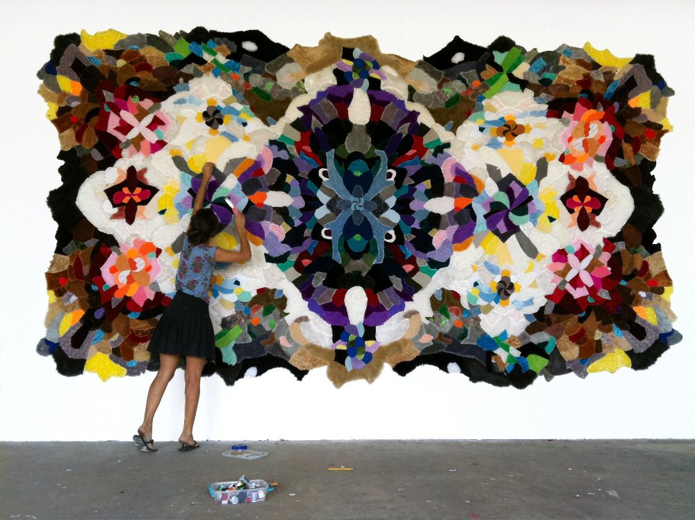 skin rugs by augustina woodgate
