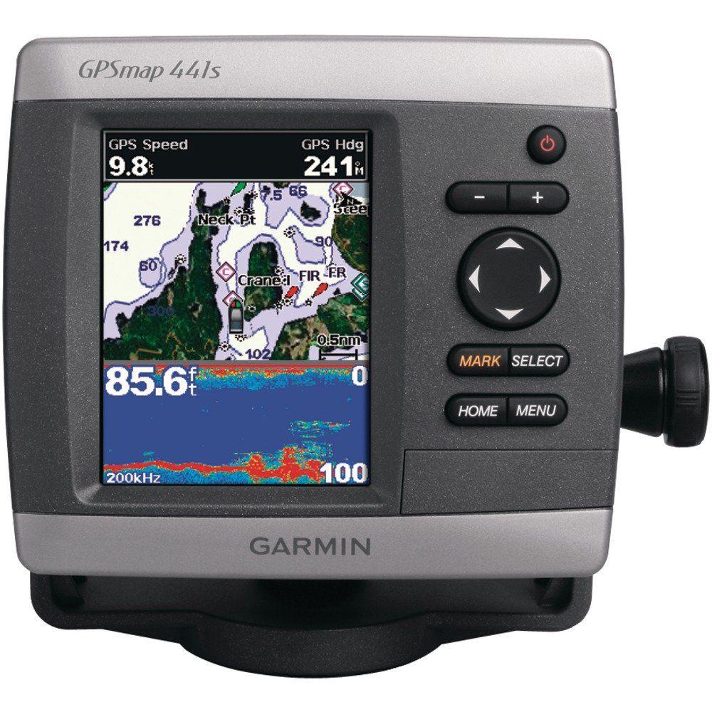 Garmin GPSMAP 441s 4Inch Waterproof Marine GPS and