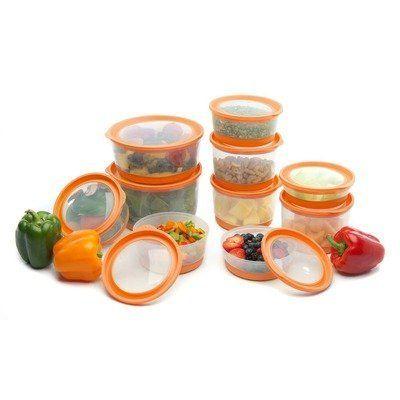 Platinum Series Food Storage Container (Set of 20) Color