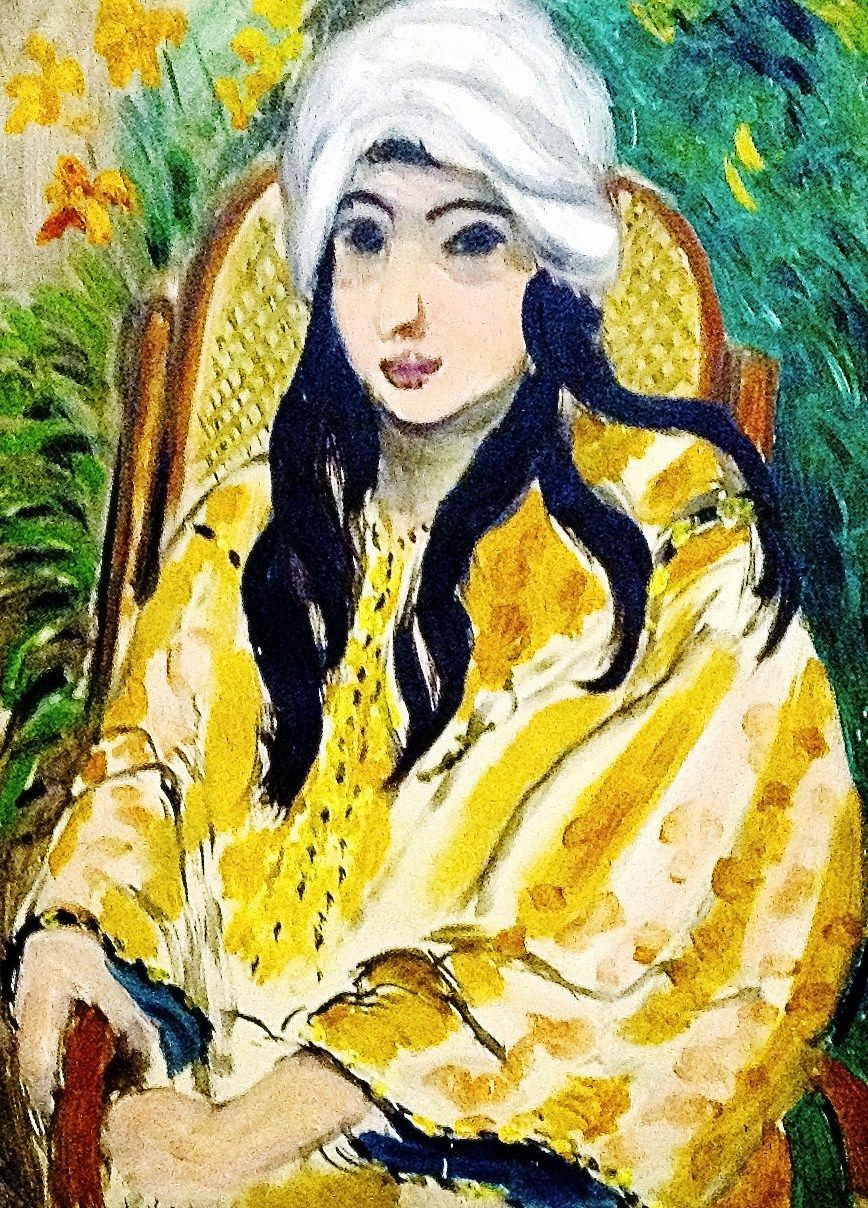 Henri Matisse (1869 -1954) - 1917, Lorette in a Turban. (Between dec1916 and dec 1917, Matisse painted at least 25 pictures of Laurette,an Italian model)