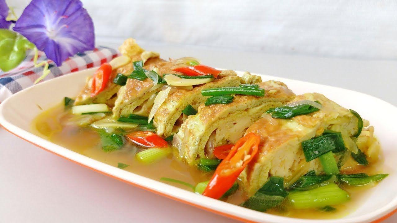 Nikmatnya Resep Masakan Tahu Dan Telur Resep Masakan Masakan Makanan Dan Minuman