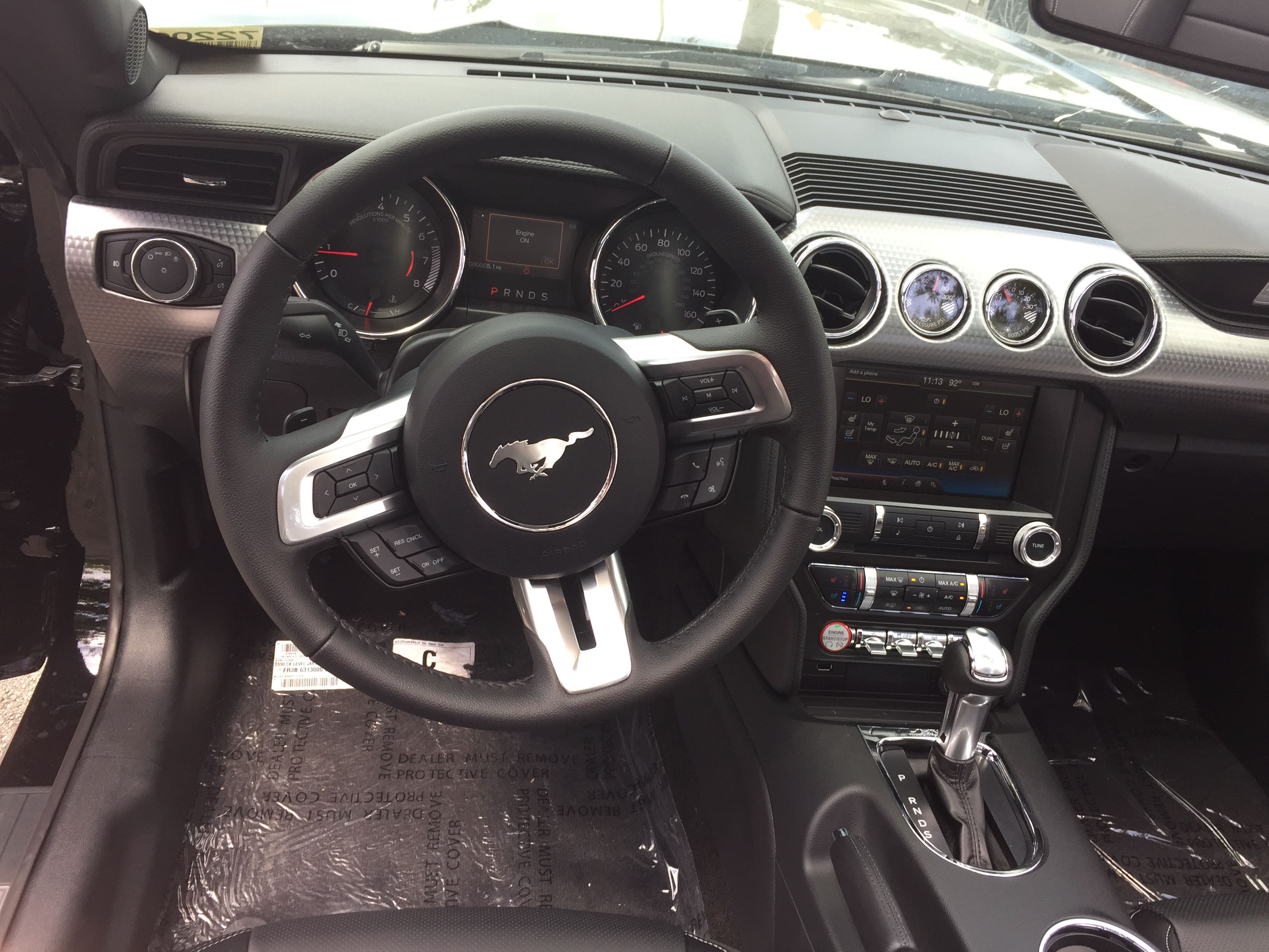 Ford Mustang Ecoboost Interior Ford Mustang Ecoboost Mustang