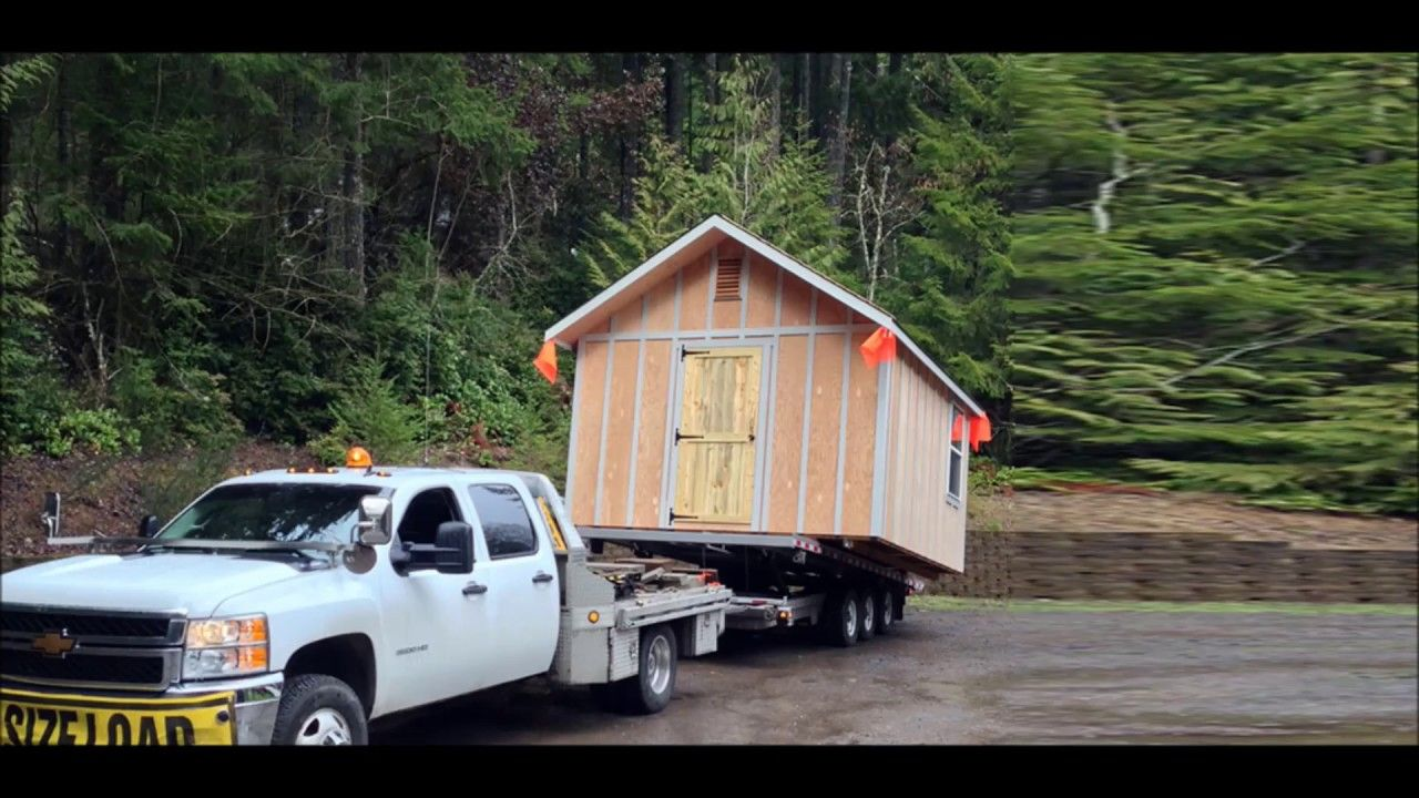 Shed Towing Services in Omaha NE Council Bluffs IA