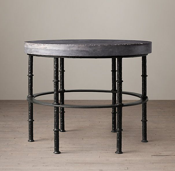 rowen bluestone round side table | vasco remodel | pinterest