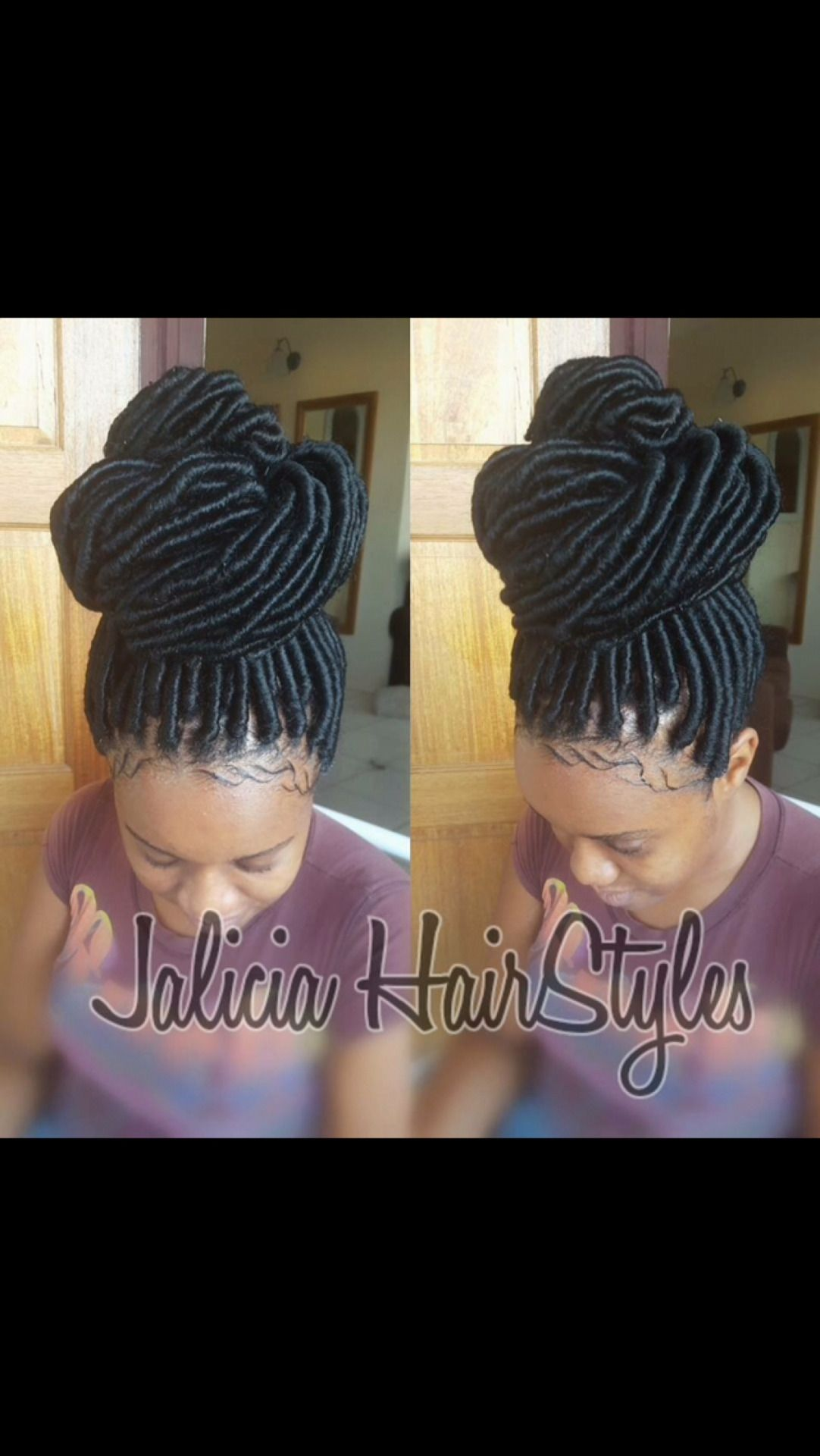 Cabuzz Really Thinking About Getting Faux Locs Hair Styles Faux Locs Hairstyles Locs Hairstyles