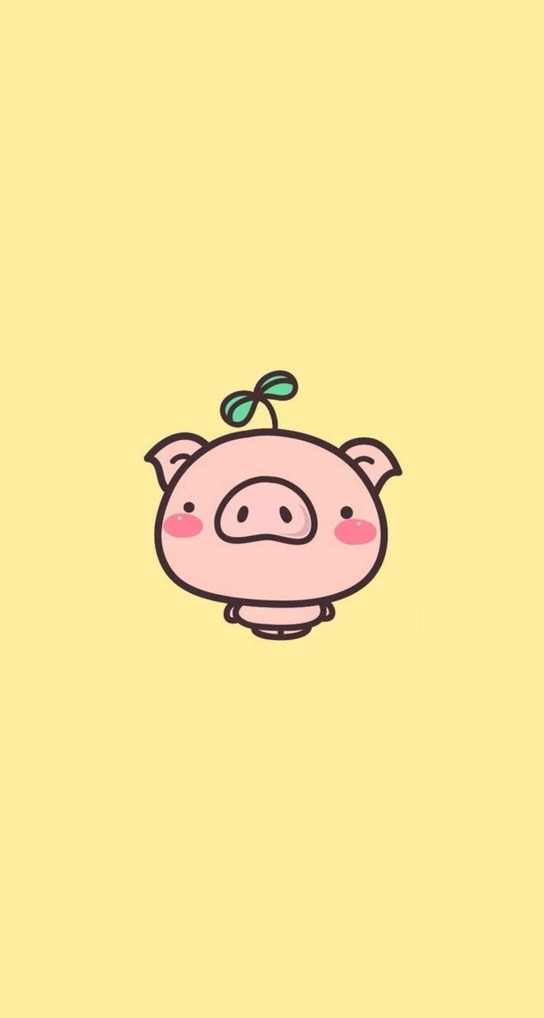 Pig Android Iphone Desktop Hd Backgrounds Wallpapers 1080p 4k 126363 Hdwallpapers Androidwallpapers Ip Pig Wallpaper Cartoon Wallpaper Cute Pigs Cool kawaii cute pig wallpaper hd images