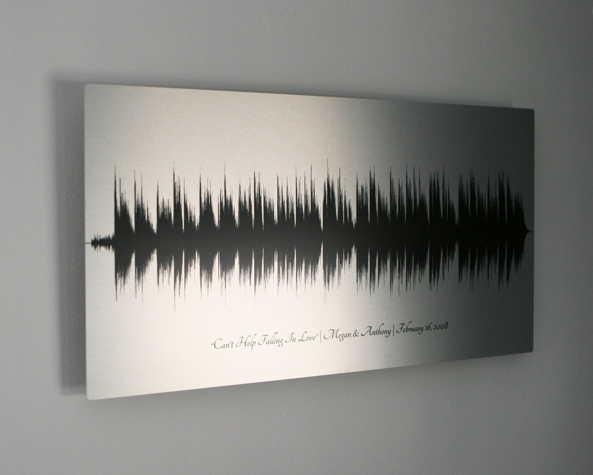 Tin Wedding Anniversary Gift: Tin Anniversary Gift 10 Year Anniversary Gifts Sound Wave