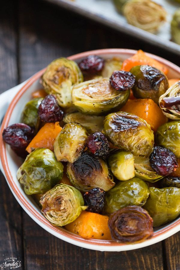 Brussel Sprout Recipes Maple Syrup Cranberries