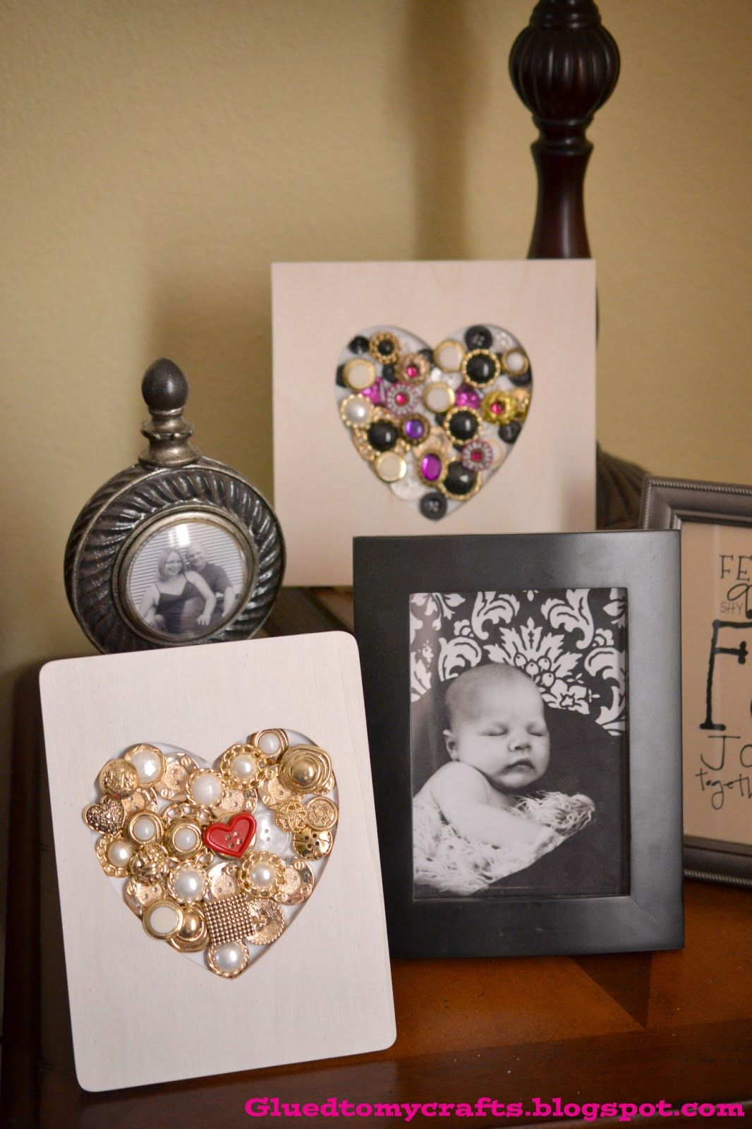 Button frames1 from michaels just grab the 1 frames