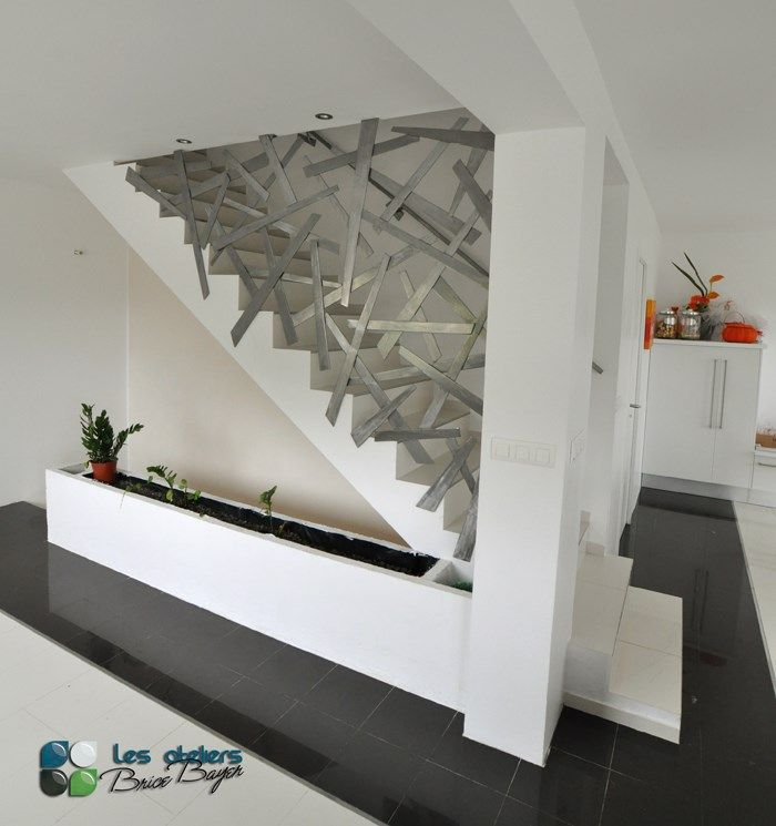 Les ateliers brice bayer architecture d 39 int rieur garde for Garde corps interieur escalier