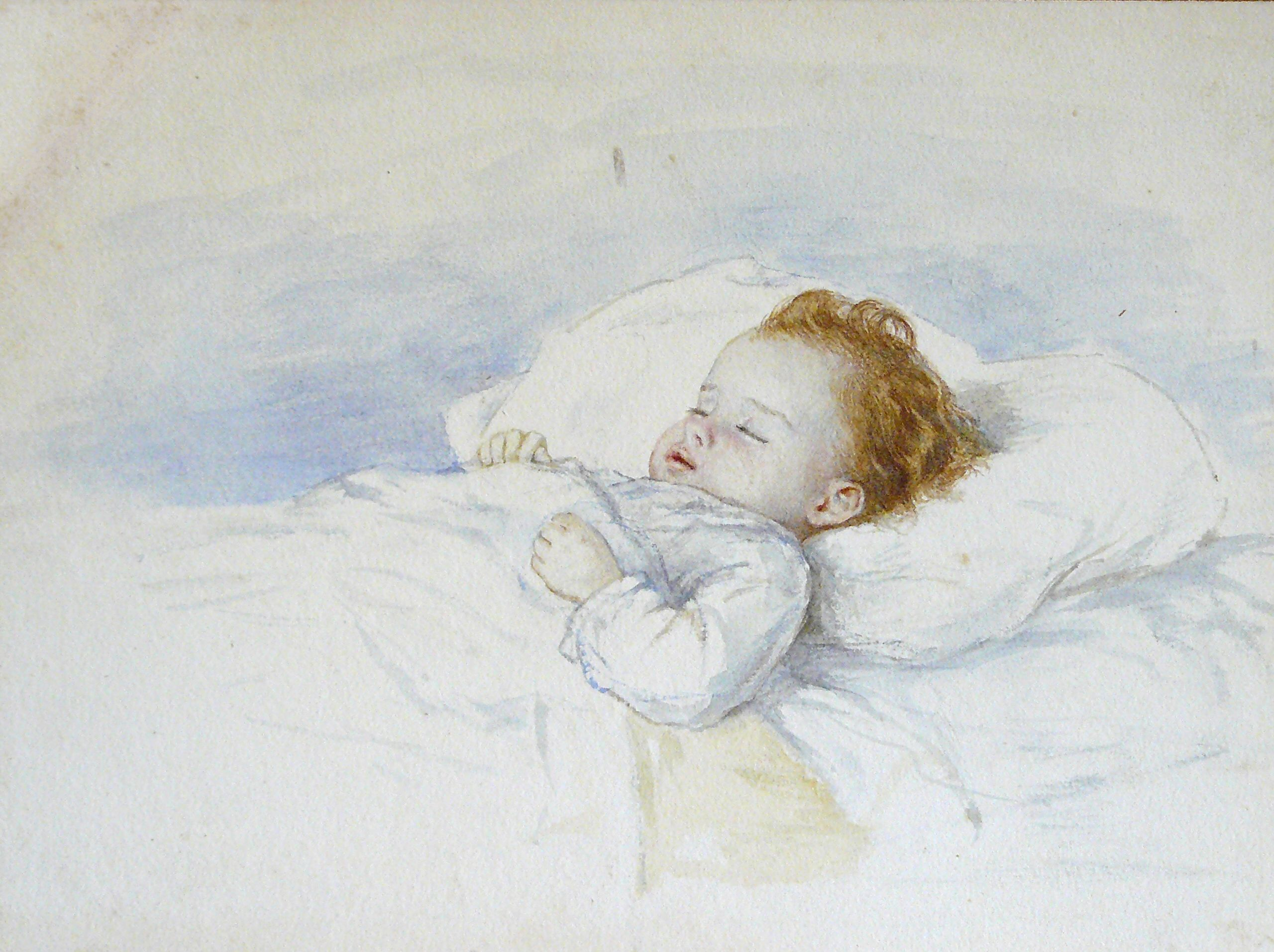 Macgoun Hannah Clarke Preston Attributed To Watercolor A