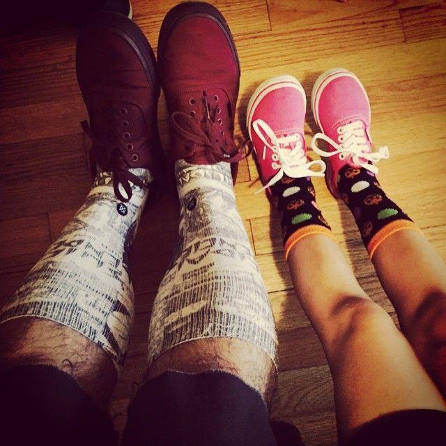 Las personas que usan calcetines divertidos son más independientes, interesantes y exitosas
