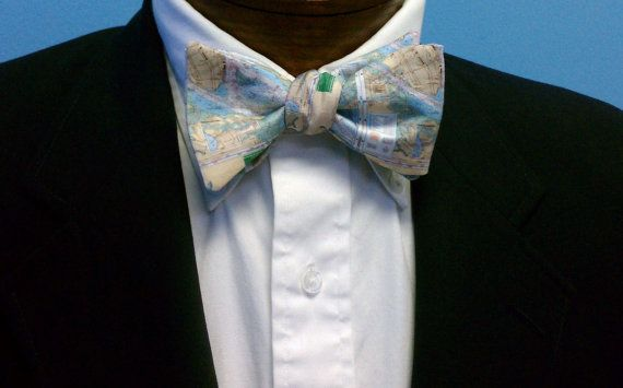 Charleston Harbor Original Bow Tie by BarryBeaux on Etsy, $50.00