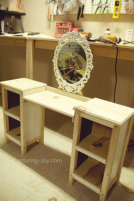 Little Girls Play Vanity Table | Vanity tables, Vanities and Plays
