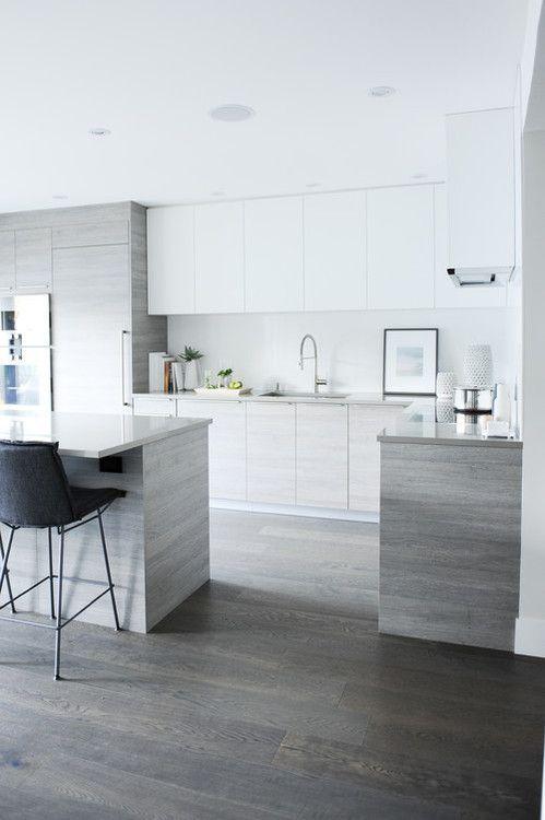 Point Grey Residence, Vancouver. Shift Interiors. (Georgiana Design). Modern  KitchensWhite ...