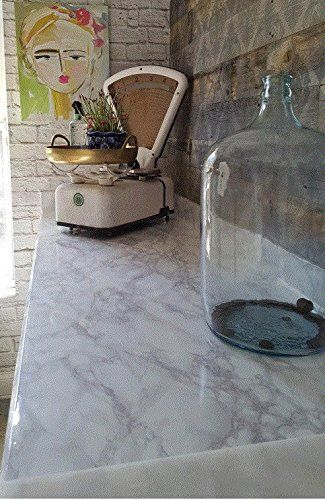 Countertop Transformation Marble White