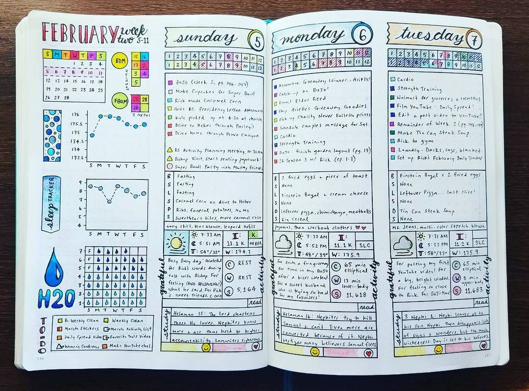 Weekly & Daily Spread - February 2017 Week 2  Last week's spread got filled in. I really need to dig down deep and do better on my eating, so that weight can do more than stay stable. Does this mean no more Kix Cereal for breakfast?! 😊 . . .  #bujojunkie http://weightlosssucesss.pw/the-5-commandments-of-smart-dieting/