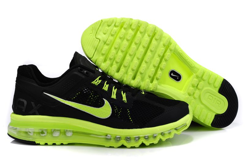 The Nike Air Max 2013 Men Light Vert Noir is the newest running