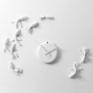 Goldfish clock goodluck nonstop online shopping India | Just For Clocks | Sweet Couch
