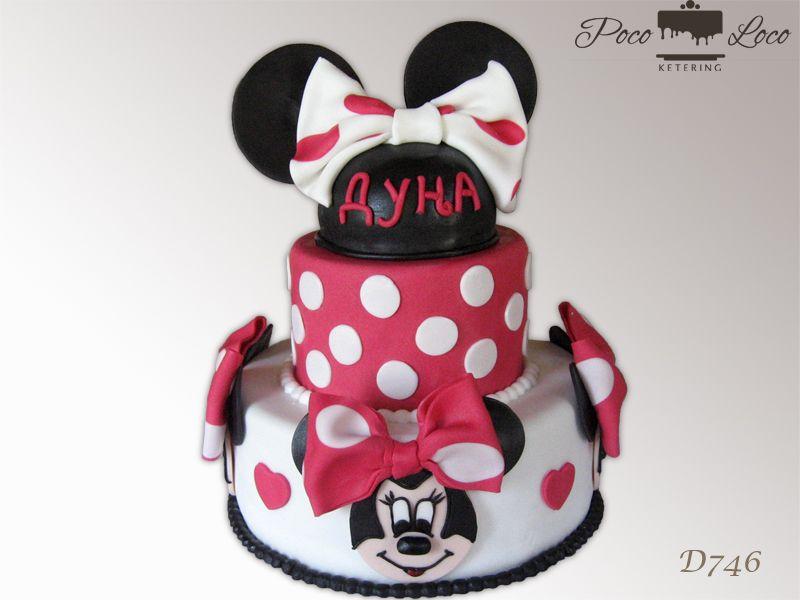 Perfect Torta Mini Maus Minnie Mouse torta MinnieMouseCake MinnieMouseTorta