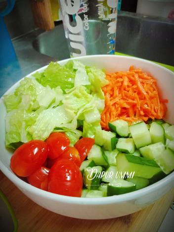 Resep Salad Sayur Oleh Dapur Ummi Noer Azzela Resep Resep Salad Makanan Ringan Sehat Humor Makanan